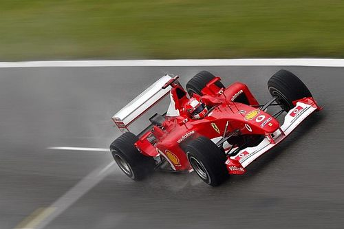El Ferrari F2002 de Schumacher se subastará en Abu Dhabi