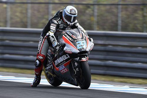 FP1 Moto2 Australia: Schrotter teratas, Bagnaia-Oliveira lima besar