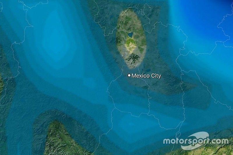Formel-1-Wetter Mexiko: Qualifying wird zur Regenlotterie