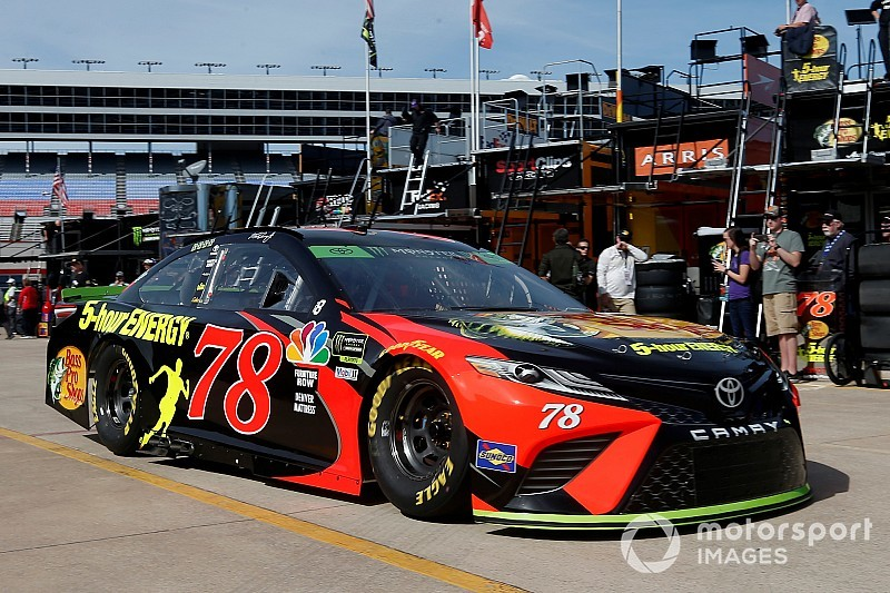 Truex Jr. sent to rear of the field again for engine change