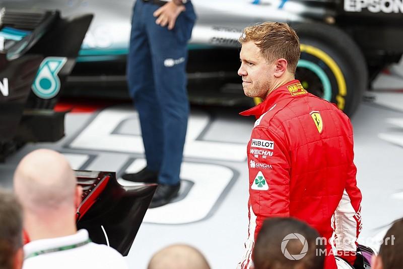 La razón por la que Vettel no pudo defenderse de Hamilton en Rusia