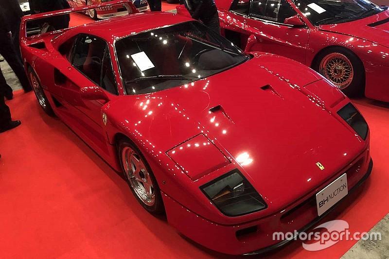 フェラーリF40、1億2100万円で落札 オートサロンBHオークション