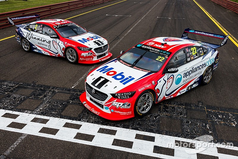 Famous HRT livery returns to Walkinshaw Holdens