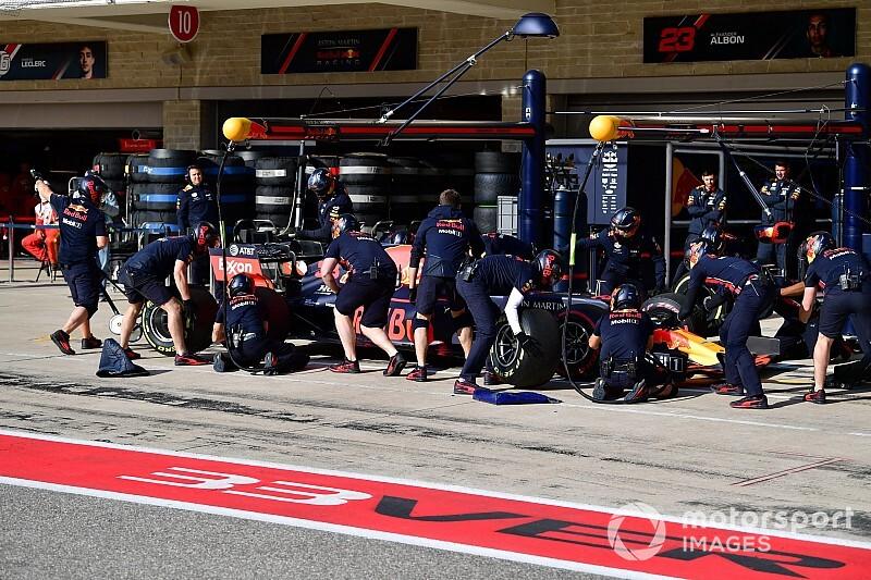 Amerika GP'nin en hızlı pit stopunu Red Bull yaptı