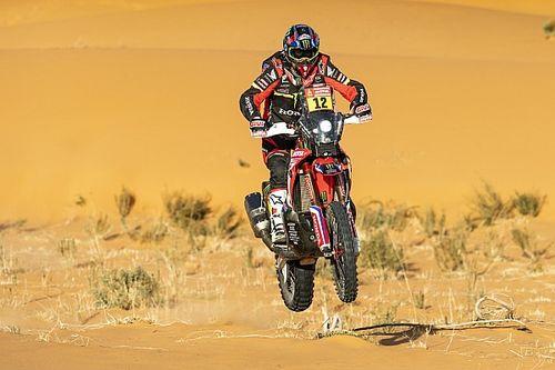 Dakar, Moto, Tappa 7: Barreda eguaglia Hubert Auriol, me è lutto