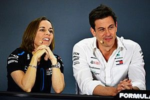 Williams explains Toto Wolff's shareholding in F1 team