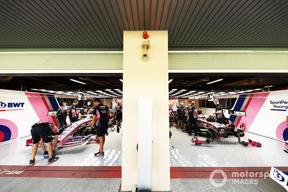 Cómo cambian trabajos en garajes de F1 con protocolos de COVID-19