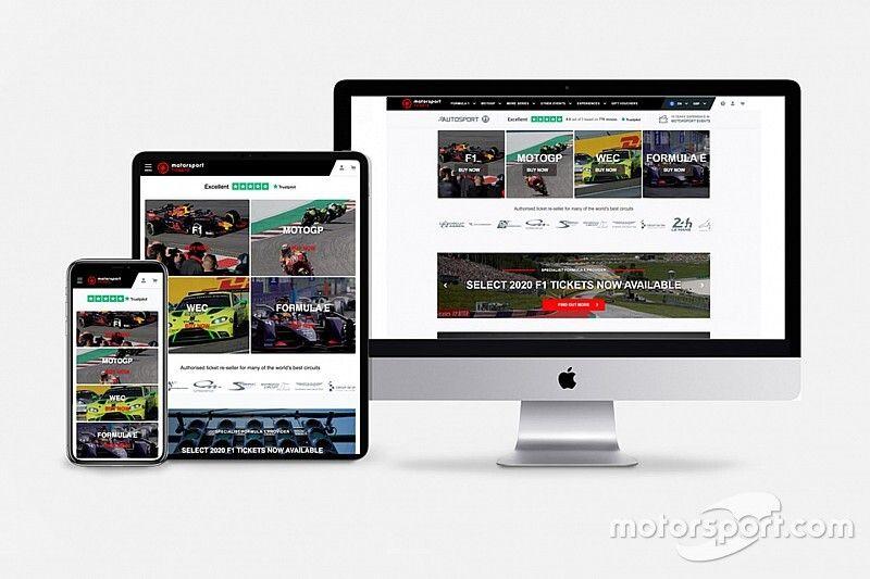 El servicio de venta de entradas de Motorsport Network estrena nombre
