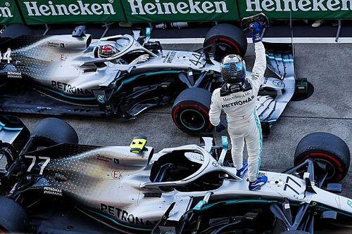 Estadísticas: Mercedes hace historia en Japón