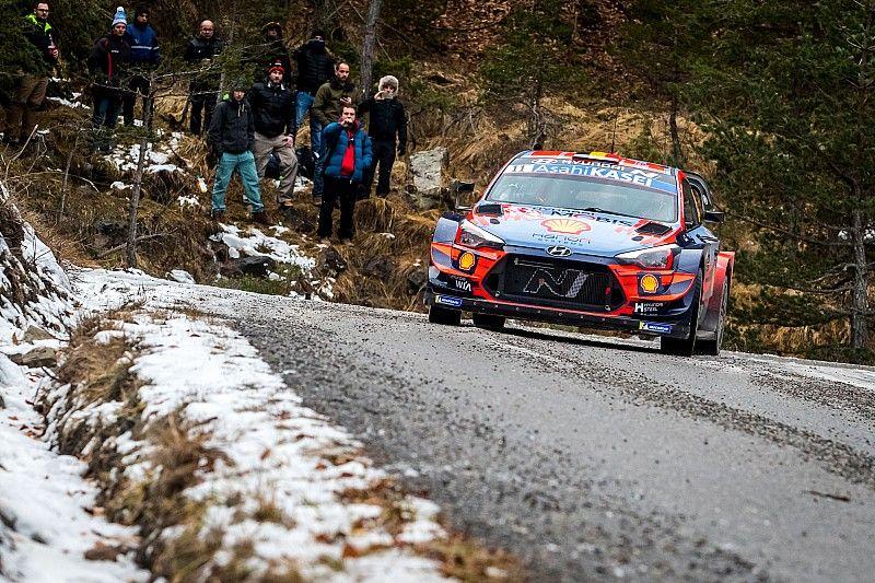 WRC, Monte-Carlo, PS9: Neuville riparte forte e vede le Toyota