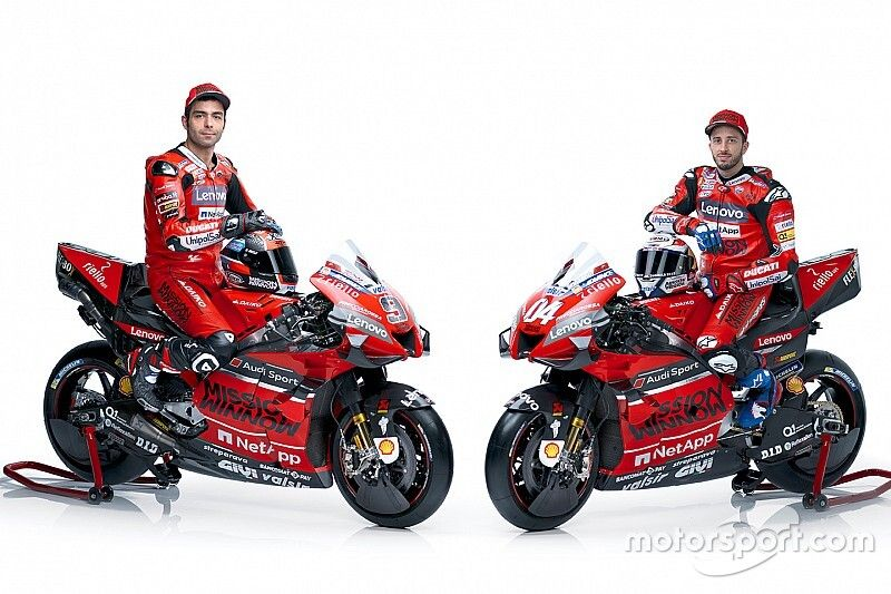 Mission Winnow vuelve al carenado de la Ducati GP20