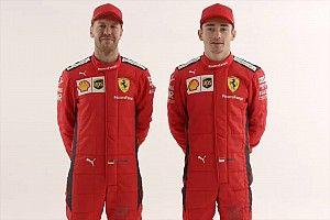 F1: Vettel deixa mensagem a Leclerc em seu capacete