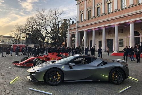 Презентация Ferrari: фото с торжественного вечера