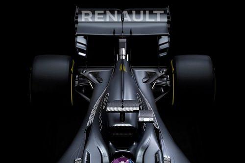 La Renault R.S.20 n'aura sa livrée définitive qu'à Melbourne