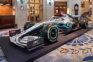 Mercedes présente sa nouvelle livrée pour 2020