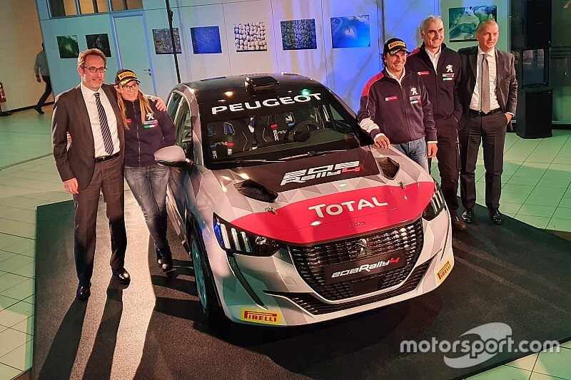 CIR 2020: Andreucci torna con Peugeot e la nuova 208 Rally4