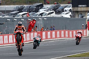 "Dovizioso braked ""like a stupid rider"" in Quartararo chase"