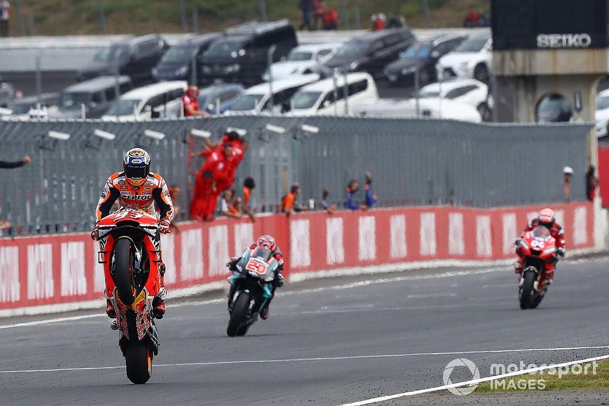 Fotogallery MotoGP: Marquez trionfa anche a Motegi