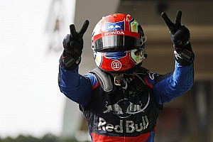 "Gasly: ""Insane"" podium ""the best day of my life"""