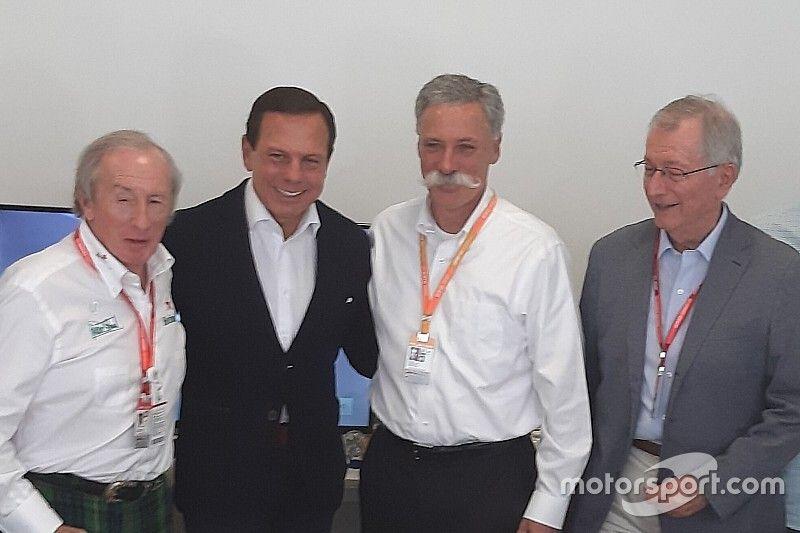 Proposta de manter F1 em São Paulo envolve pagamento de taxa por município
