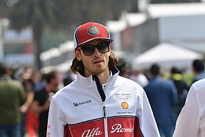 アルファロメオF1、2020年シーズンのジョビナッツィ継続起用を発表
