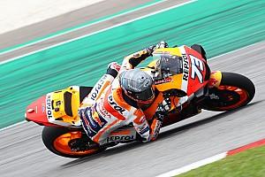 Alex Márquez sufrió de un resfriado en el primer día en Qatar