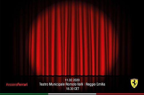 Ferrari, 2020 aracını Reggio Emilia'da tanıtacak!