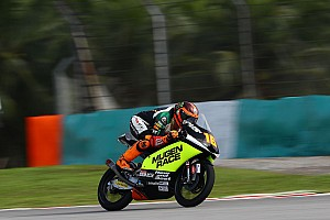 Moto3バレンシア予選:ミーニョ、キャリア初ポール獲得。鈴木竜生は8番手