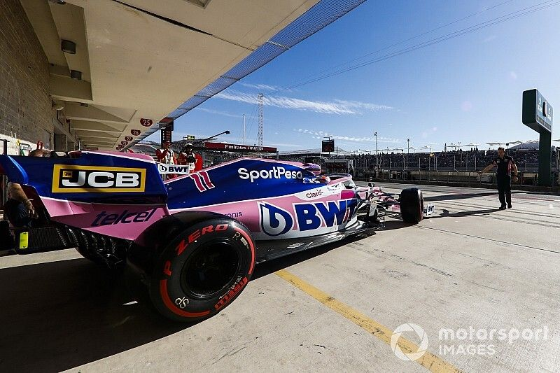 Pérez monta el spec 3 de Mercedes y espera avanzar en carrera