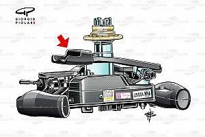 Los cambios en el volante de Leclerc para mejorar las salidas