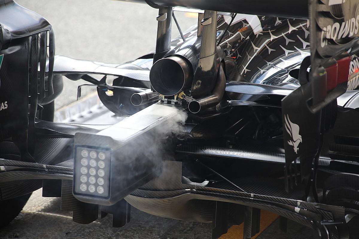 Mercedes: sulla W11 non tutto fila lascio come l'olio