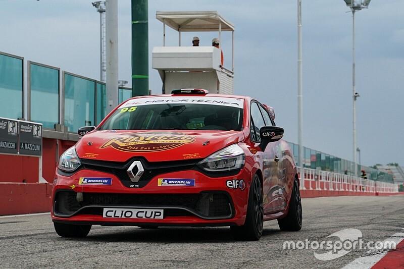 Chierichetti con MC Motortecnica nella Clio Cup Italia 2020