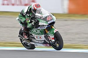 Moto2日本予選:マリーニが圧倒的な速さでPP。長島哲太は16番手