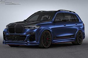 Mintha a Need For Speedből lépett volna elő a Lumma BMW X7-ese