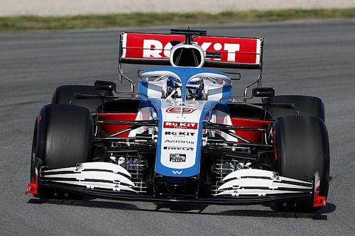 Latifi nie nadaje się do F1