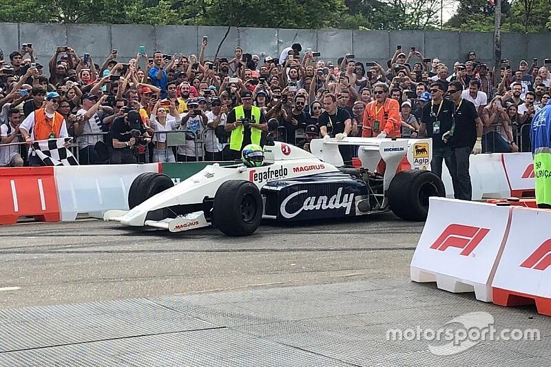 San Pablo recordó a Senna junto a Fittipaldi, Massa y Gutiérrez