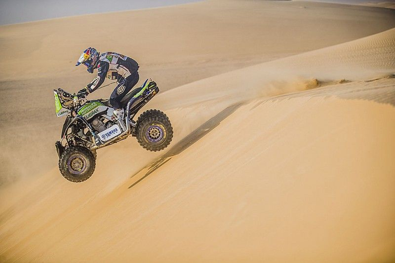 Casale seals dominant third Dakar quad title