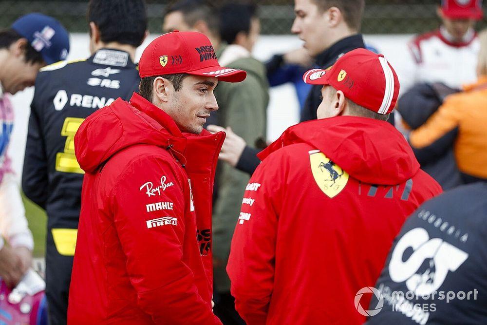 Leclerc thanks Vettel for lessons despite 'tense moments'