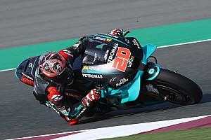 Quartararo najszybszy, wypadek Marqueza