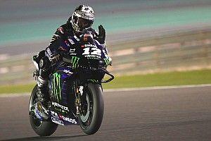 Test MotoGP Losail, Giorno 3: Vinales vola, Rossi cade