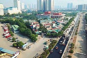 В Ханое изменили конфигурацию трассы в процессе строительства