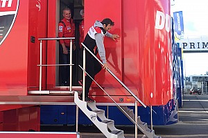 Zarco ha incontrato i vertici Ducati oggi a Valencia