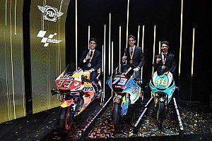 Todos los galardonados en la entrega de premios de MotoGP