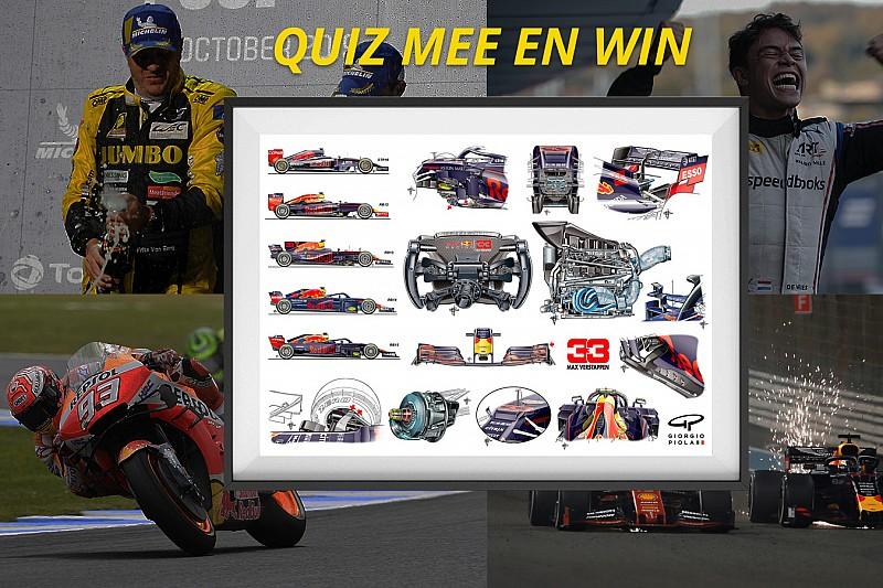 Win: Test je kennis over 2019 en win een Piola Verstappen-poster