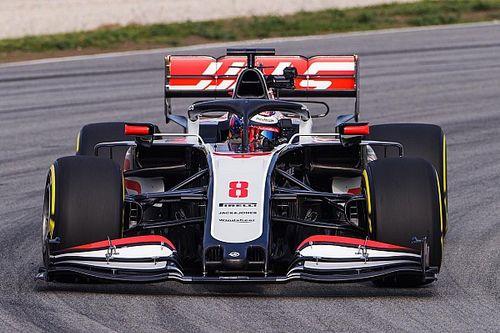 Fotos y vídeo: Haas también muestra el shakedown de su coche