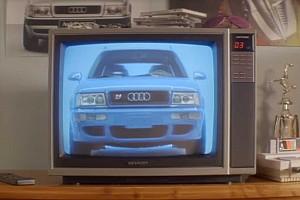 Új reklámfilmet forgatott az Audi a 94-es RS2 Avanthoz