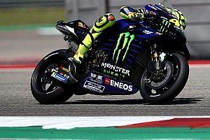 Rossi voudrait un déflecteur sur le bras oscillant de la Yamaha