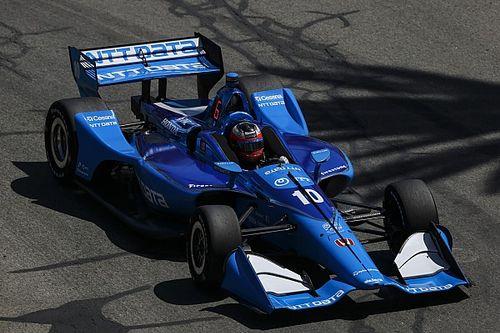 Розенквист завоевал первый поул в IndyCar на Гран При Индианаполиса