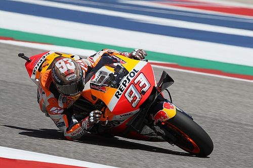 "Marquez pakt zevende pole op COTA: ""Maar afstelling moet nog beter"""