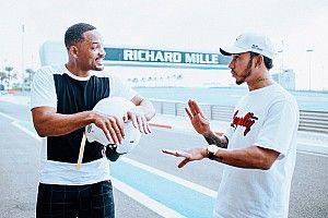 VÍDEO: Will Smith tem aula de pilotagem com Hamilton em Abu Dhabi